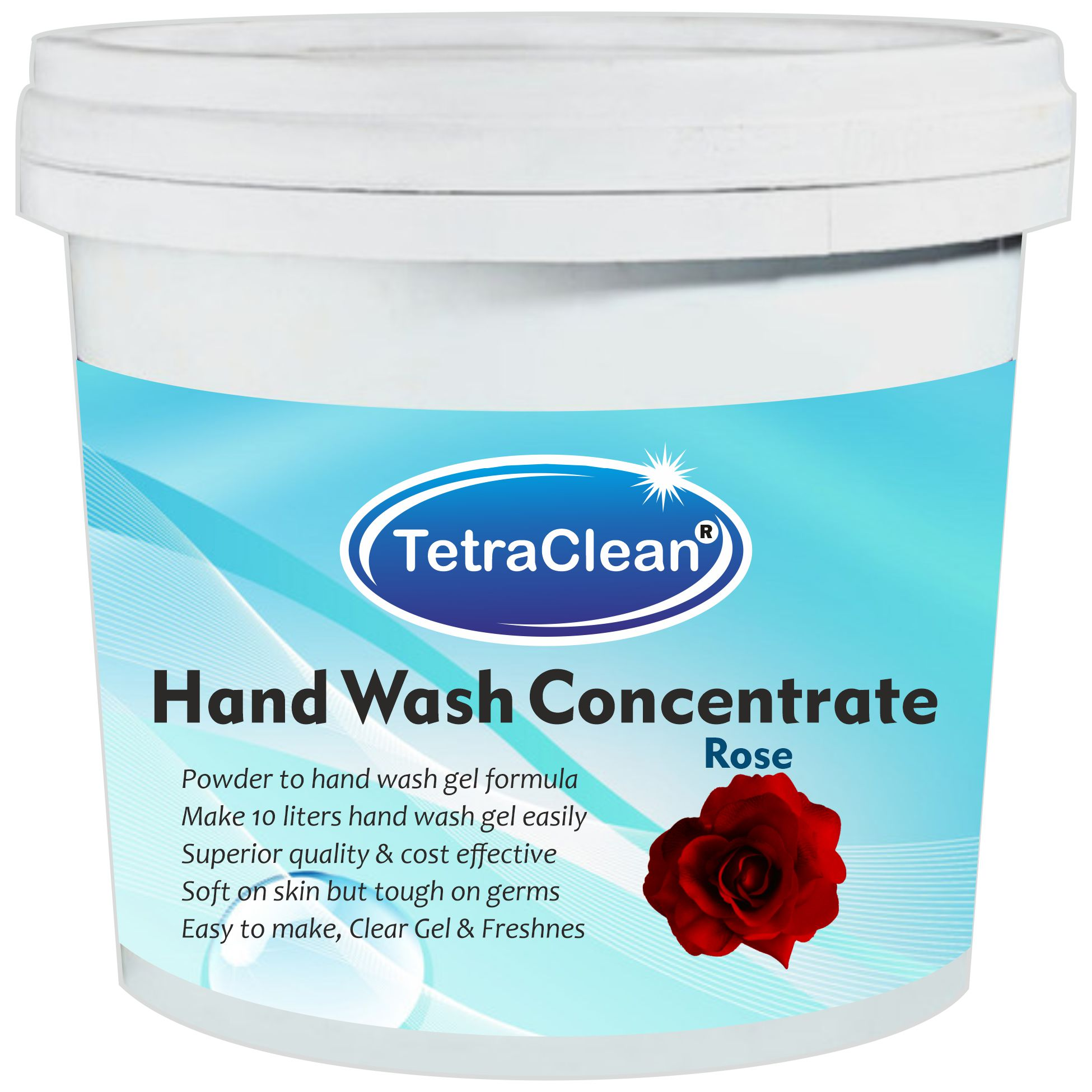 TetraClean Aloe Vera Hand Wash Concentrate Powder - 500gm packing