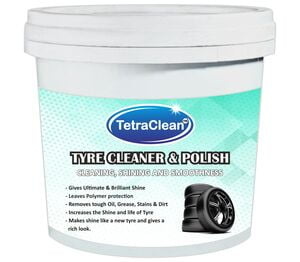 TetraClean Tire Cleaner and Polish for Ultimate Shine of tire (1 kg)