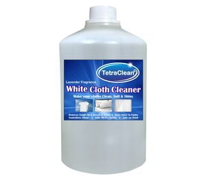 TetraClean White Cloth Cleaner and Brightener Liquid Detergent with Lavender Fragrance (1L)